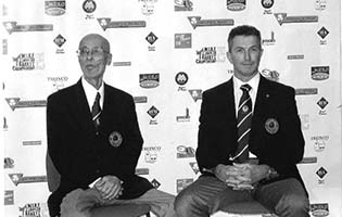 Sensei Suzuki & Sensei Wicks at the 15th WIKF European Championships